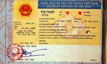 Precio visado Vietnam