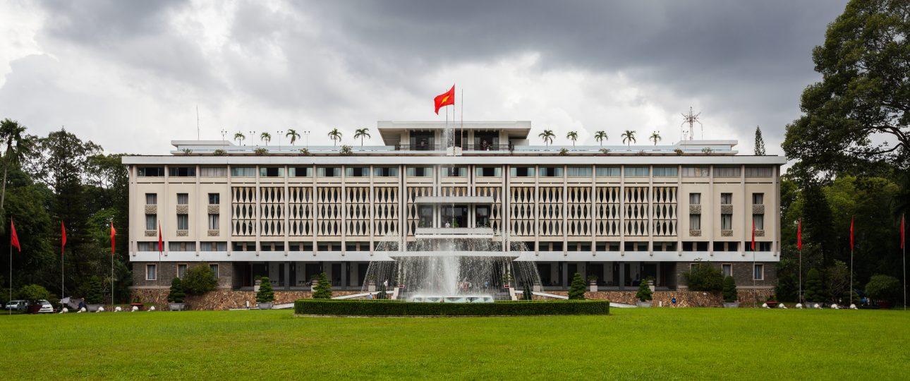 el palacio de reunificacion de sagion