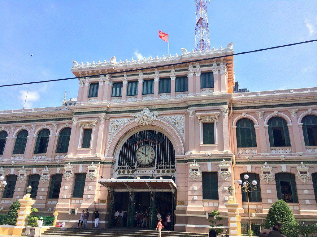 oficina de correos en saigon