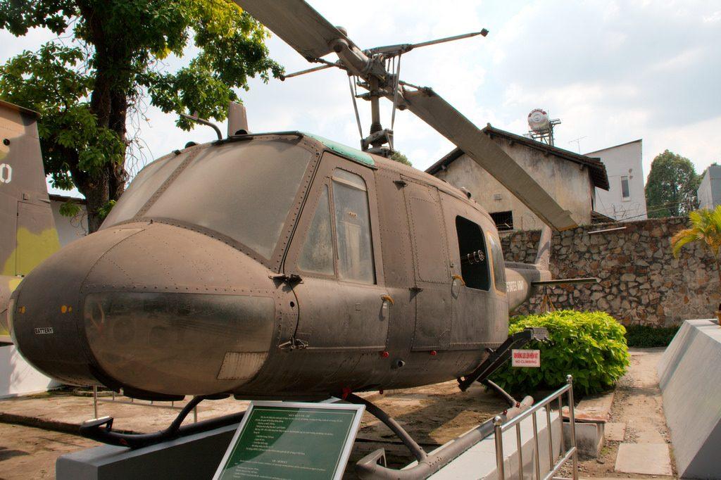 el museo de la guerra en saigon