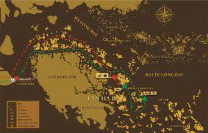 Mapa de Lan Ha