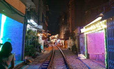Vías del tren Hanoi