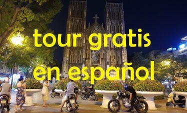 Tour gratis por Hanoi en español